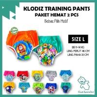 [Isi 2] Klodiz Size L Training Pant/ Celana Dalam Latihan Pipis Anak
