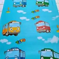 grosir murah wallpaper sticker dinding gambar tayo