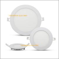 Bergaransi Lampu Downlight LED Panel Bulat Inbow 6W 6 Watt Putih