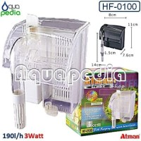 Filter Gantung Aquarium/Hang on Atman HF-0100
