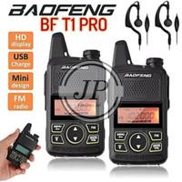 HT Baofeng T-1 Pro T1 Pro Walkie Talkie Radio UHF VHF bukan Pxton