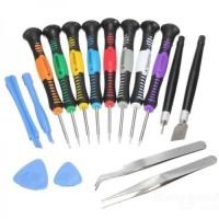 Versatile Screwdriver Set 2811 Fatick 16in1 Obeng Set Service HP 0561