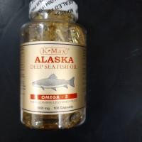 K-MAX OMEGA 3 ALASKA DEEP SEA FISH OIL / MINYAK IKAN ( KOLESTEROL)