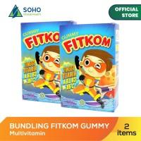 Fitkom Gummy Multivitamin - Isi 5 Sachet @21g - Pack Of 2 Box