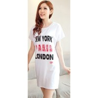 KAOS ATASAN WANITA MODEL DRESS