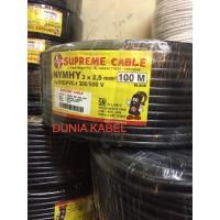Kabel Serabut /NYYHY Supreme 3x2.5 3x2,5 3 x 2.5 3 x 2,5 per-meter