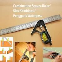 Penggaris Waterpass Siku Kombinasi Combination Square Ruler