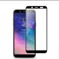 Tempered Glass Full Cover 9D For SAMSUNG A6 - Non Pack.