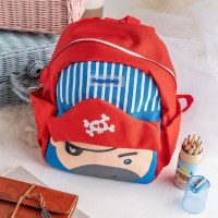 ARAMI SCHOOL BAGS WITH SAFETY LINE FOR KIDS | Tas Anak Bahan Kanvas