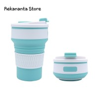 Folding Cup - Collapsible Cup - Gelas Lipat Portable - Green