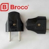 Steker Gepeng merk Broco 344LN