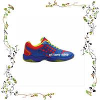Sepatu Flypower Dieng Shoes Sepatu Badminton Blue Red Citrus