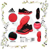 Favorit Sepatu Badminton Original Wutch P3 New Color Black Red