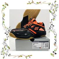Favorit Yonex Shb36 Shb 36 Sepatu Badminton Original Black Red