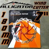 Jual Rotor Alligator Wind-Cutter RED 180mm 7 inci Merah Piringan