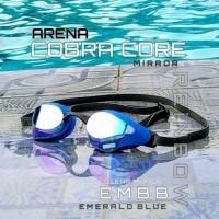 Terbaik Original COBRA CORE Mirror Kacamata Renang ARENA AGL-240 EMBB