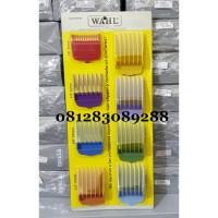 Terlaris Wahl Attachment Comb Set / Sepatu Ukuran Cukur Rambut Wahl