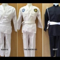 Baju Karate / Taekwondo / Silat Anak & Dewasa