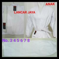 Baju Karate 1 Stel Anak - Sabuk Putih
