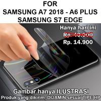 Skin aurora Samsung A7 2018 - A6 Plus - S7 Edge garskin anti gores hp - A7 2018