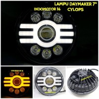 LAMPU DAYMAKER ORIGINAL 7 INCH CYCLOPS limited stock