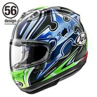 Arai RX7X Nakano Shuriken Green Helm Full Face - Arai SNI