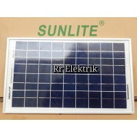 Solar Panel / Solar Cell / Panel Surya Sunlite 10wp Poly