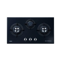 Built-in Gas Hob Kompor Gas Tanam 3 Tungku Rinnai RB-773RO (G)