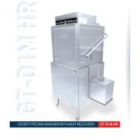 Door Dishwasher w/ Heat Recovery Warewashing Mesin Cuci Piring G-Tek