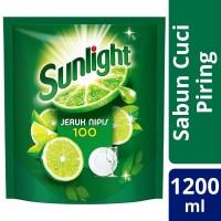 Sunlight Jeruk Nipis 1200 ml / Sabun Cuci Piring Sunlight 1200ml
