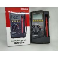 Multitester Multimeter Merk Sanwa DMM CD 800 A display 4000 Murah