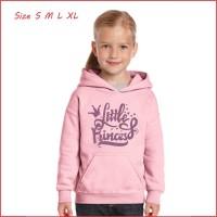 Jaket Hoodie Sweater anak perempuan bahan tebal termurah