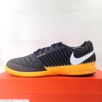 Sepatu Futsal Nike Lunar Gato II IC DK Smoke Grey 580456-018 Original
