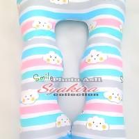 Bantal Hamil Maternity Pillows Motif Awan senyum