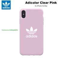 Case iPhone Xs Max Adidas Originals Adicolor Canvas - Pink