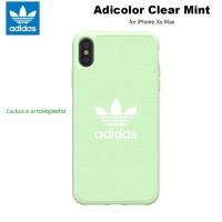 Case iPhone Xs Max Adidas Originals Adicolor Canvas - Light Green