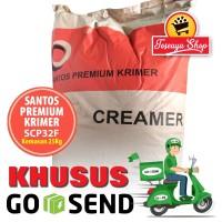 Krimer/Creamer Santos Premium SCP32F 1 Sak GoSend/GrabExpress