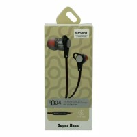 Headset sport with control function answer end call button