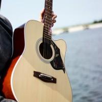 Gitar akustik yamaha F500 Natural bonus tas
