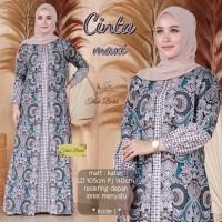 Gamis Batik Kombinasi / Gamis Batik Bolero / Gamis Batik Modern