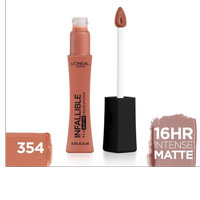 SALE LOreal Lipstik Matte Infallible Pro-Matte Liquid Lip 354 Nudist
