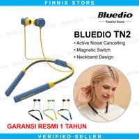 Bluedio TN2 Neckband Bluetooth Headset Earphone With ANC - Biru