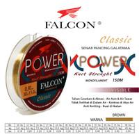 Senar Pancing Falcon POWER 150 Meter / GALATAMA Anti Keriting - 0.18mm
