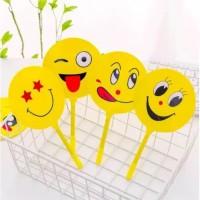 pen kipas emoticon emoji pulpen pena bolpen ballpoint termurah COD