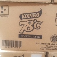 Kopiko 78 Coffee Latte 12x 240ml