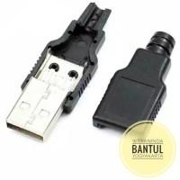 SOKET KONEKTOR USB MALE