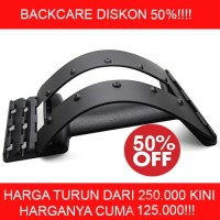 Backcare / Back Strether Device Alat Terapi Pinggang ( No Magnet )