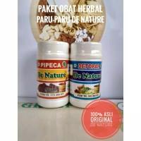 Obat Paru Paru Basah Herbal Detox Paru Detopar Pipeca | DE NATURE