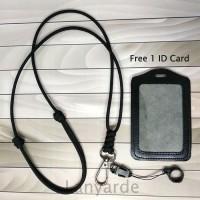 Lanyard Multifungsi Premium Gantungan Leher ID Card Cantelan Free ID