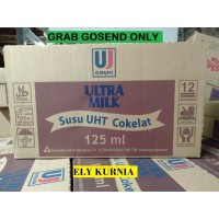 Susu UHT Ultra Milk Coklat 125 Ml isi 40 Pcs